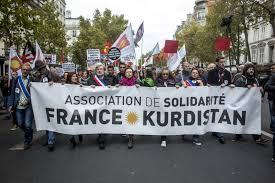 Paris bombe le torse dans la défense du Kurdistan