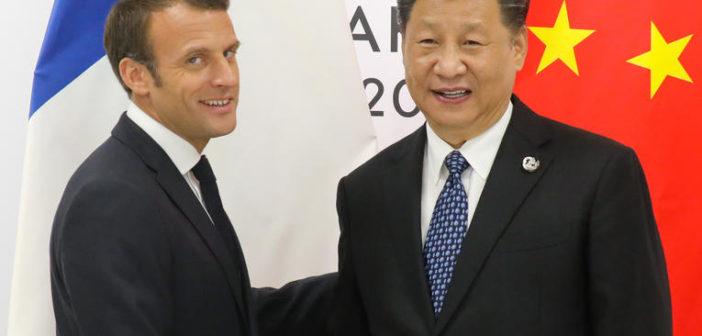 Les tribulations de Macron en Chine