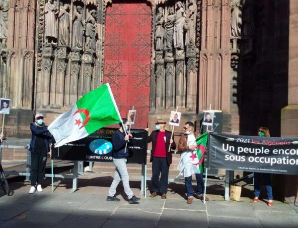 En Algérie, la Junte militaire opprime et terrorise, la France de Macron et l'Europe Complices